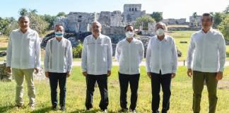 AMLO y estados del sureste firman Convenio de Ordenamiento Territorial