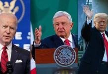 """AMLO desea a Biden que """"todo salga muy bien"""" hoy; destaca logros con Trump"""