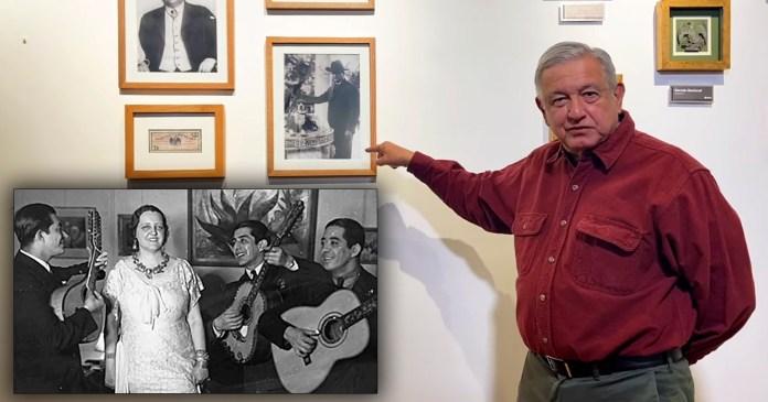 AMLO homenajea a Felipe Carrillo Puerto con cancion yucateca Peregrina - AMLO homenajea a Felipe Carrillo Puerto con canción yucateca 'Peregrina'