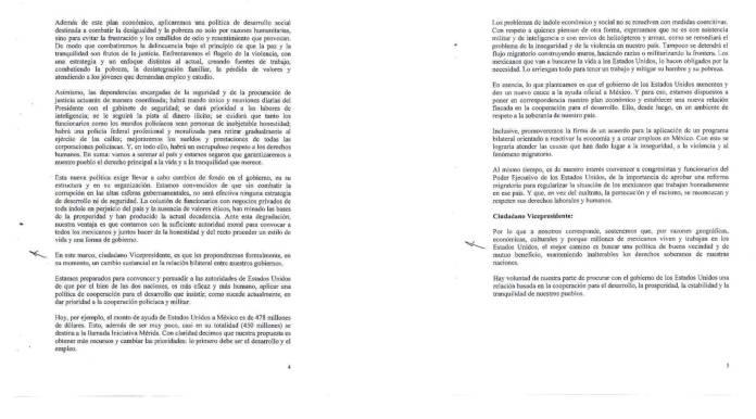 Carta de AMLO al Vicepresidente Joe Biden 2012 Reforma Migratoria 03
