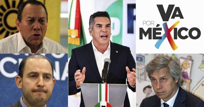 PRI, PAN y PRD, aglutinados por Claudio X González en Va X México