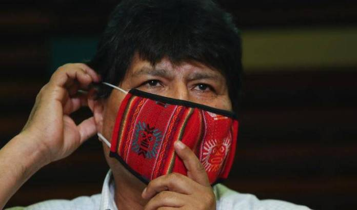 evo morales covid  - Evo Morales da positivo a Covid-19, ya recibe tratamiento