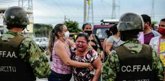 Fracasa fuga de 166 reos en cárcel de Ecuador