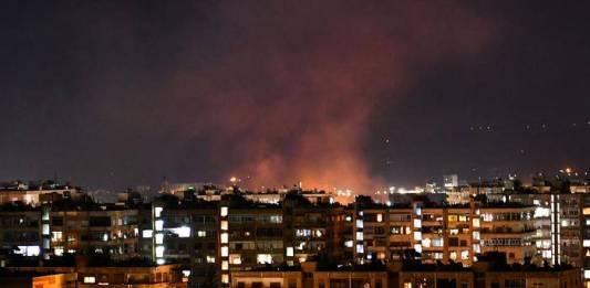 Siria repele ataque de Israel sobre Damasco