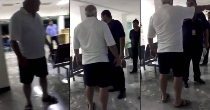 Captan a Manuel Clouthier en video ebrio y prepotente contra personal de aeropuerto - Captan presuntamente a Manuel Clouthier en video, ebrio y prepotente contra personal de aeropuerto