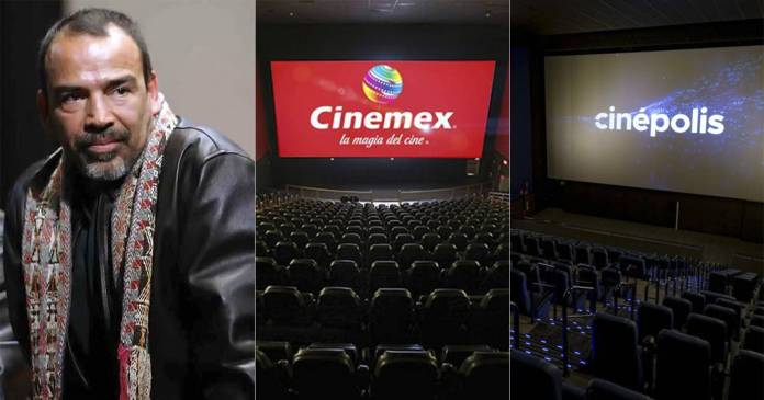 Damián Alcázar- el cine está en unas cuantas manos, recuperemos nuestras salas