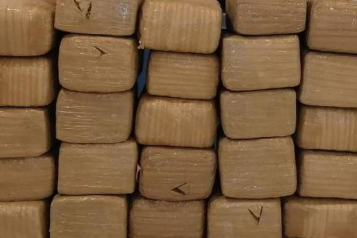 Guardia Nacional asegura 300 kilos de mariguana en León, Guanajuato