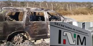 Destituyen a ocho funcionarios del INM por caso de masacre en Tamaulipas