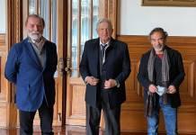 Damián Alcázar y Epigmenio Ibarra son auténticos defensores de la 4T: AMLO