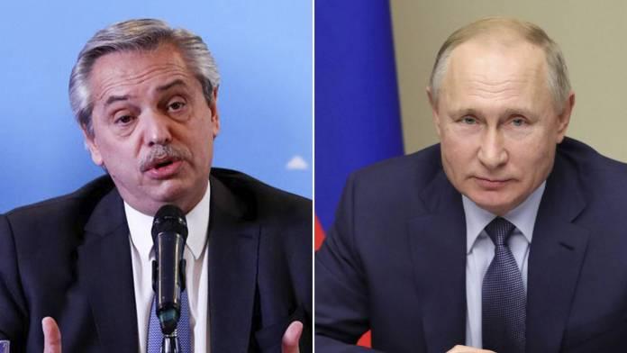 Alberto Fernández y Vladimir Putin sostendrán encuentro