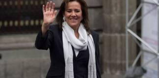 Margarita Zavala va por diputación como candidata del PAN