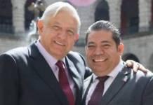 López Obrador manda sus condolencias a familiares del senador Radamés Salazar