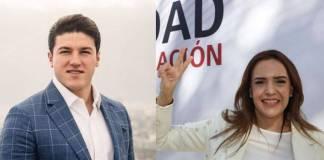 Listos los candidatos para NL; Samuel García y Clara Luz Flores hacen oficial su candidatura
