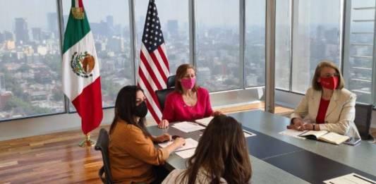 Las mujeres y minorías, importantes en el T-MEC: Tatiana Clouthier