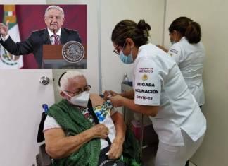 Llegó la vacuna a adultos mayores; todo va según lo planeado