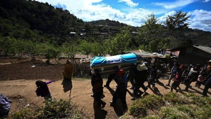 Miles despiden en Guatemala a migrantes asesinados en Tamaulipas