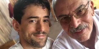 Médico incansable: Luis Gerardo Méndez revela que su padre murió de Covid-19