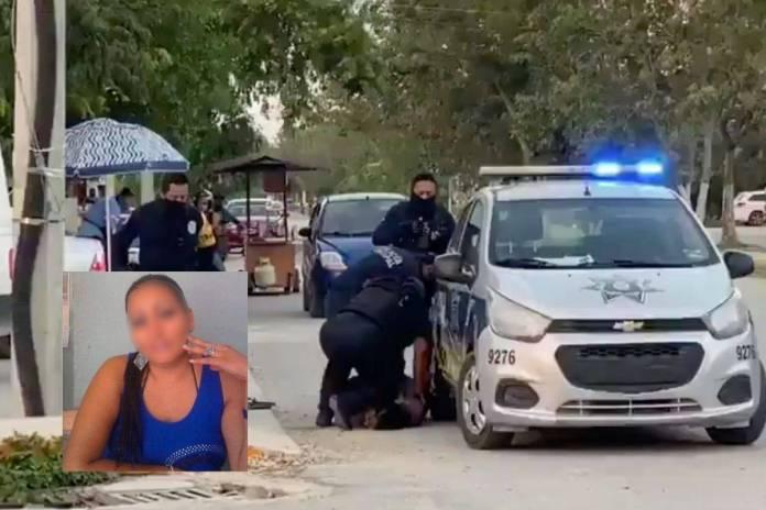 Victoria Salazar falleció por fractura de columna tras sometimiento de policías en Tulum