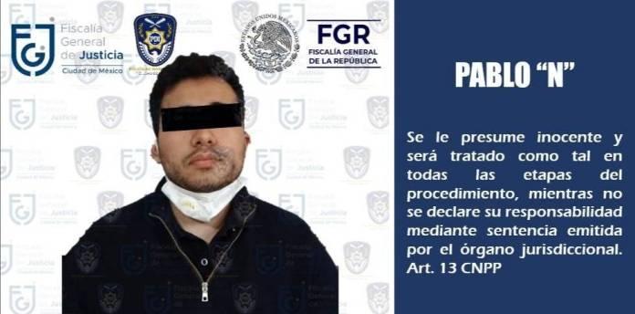 Pablito, sobrino de Caro Quintero, fue detenido en Atizapán