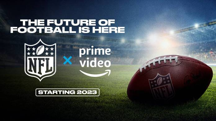 Amazon paga millones para adquirir los derechos exclusivos de Thursday Night Football de la NFL