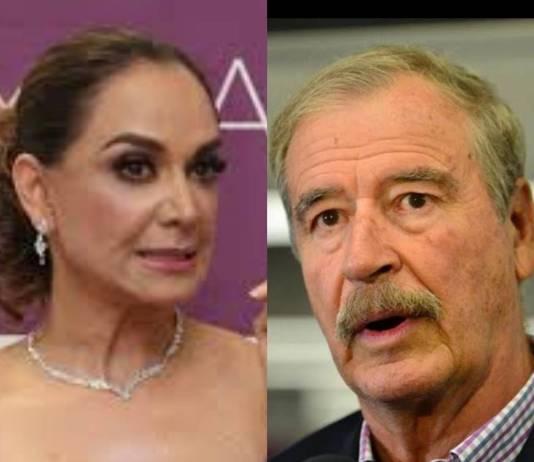 Fox felicita a Lupita Jones por su candidatura a la gubernatura de Baja California
