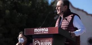 Alfonso Durazo ofrece a sonorenses gobernar con los principios de la 4T