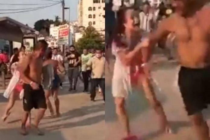 Turistas de Tepito se pelean con comerciantes de Acapulco