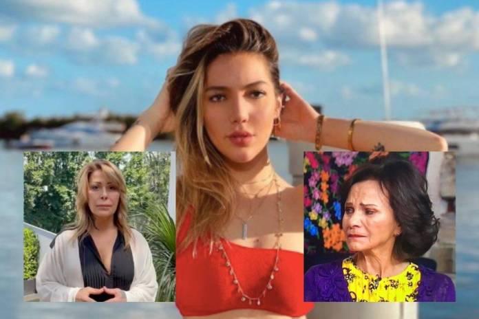 Frida Sofia responde a las declaraciones de Alejandra Guzmán y arremete contra Pati Chapoy