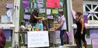 Estudiantes de la UAEM organizan colecta para apoyar a maestra agredida