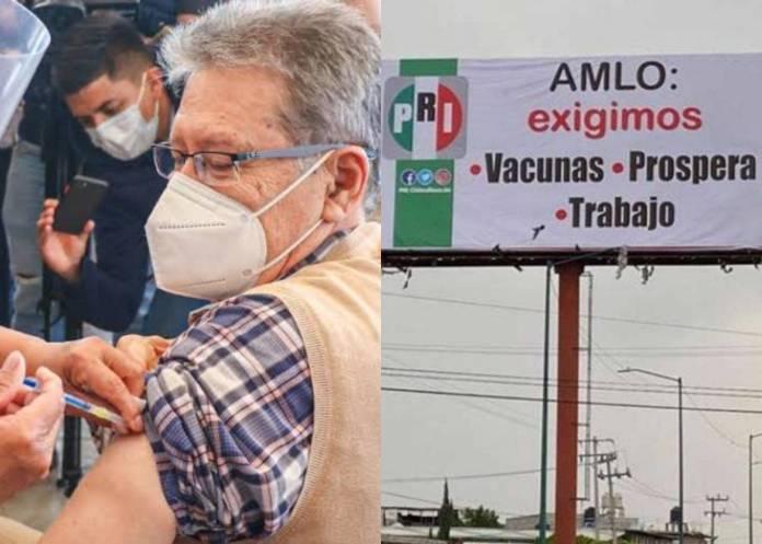 Denuncian a alcalde de Chimalhuacán por uso electoral de vacuna