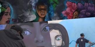 Con murales en el Edomex buscan combatir la violencia contra la mujer