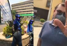 Panistas agreden a reportero en alcaldía Benito Juárez