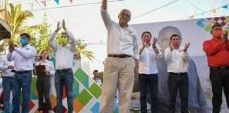 Si gano gubernatura me bajaré el sueldo; candidato de Morena en Nayarit
