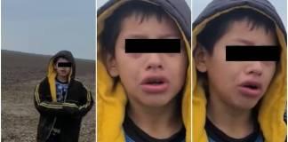"""""""Me dejaron botado""""; niño migrante es rescatado por patrulla fronteriza"""
