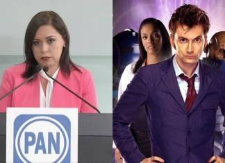 Candidata del PAN se compara con Dr. Who y desata burlas en redes