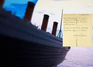 Científicos analizan carta encontrada en una botella que pudo ser lanzada desde el Titanic