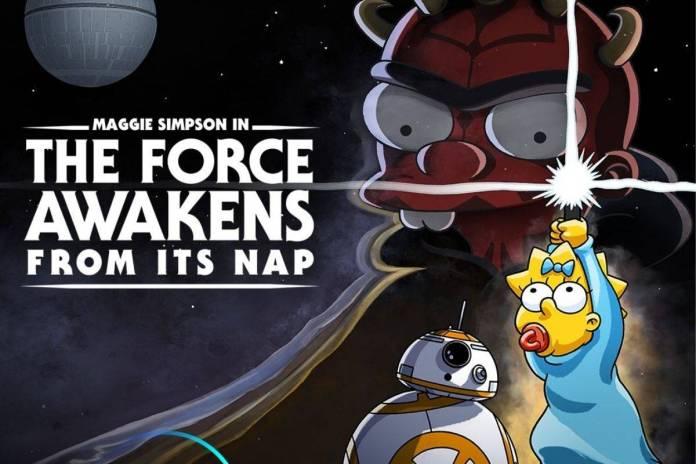 Los Simpsons estrenan corto para festejar el Día de Star Wars