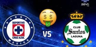 Boletos para la final Cruz Azul vs Santos se revenden hasta en 40 mil pesos