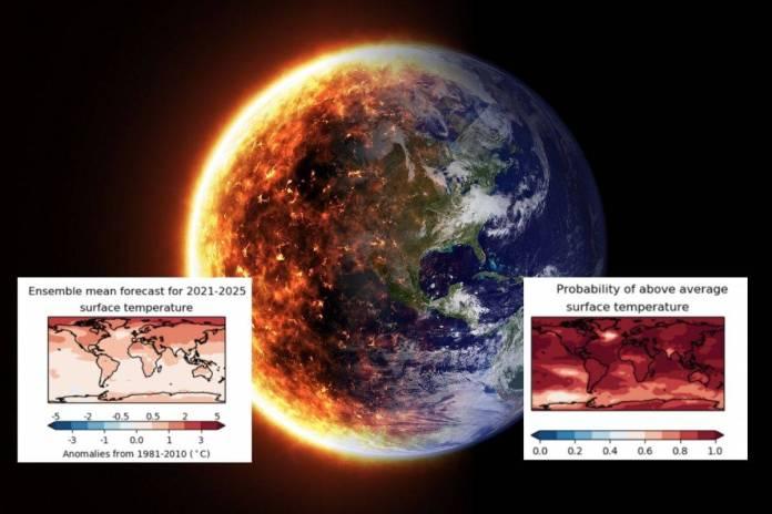 La OMM advierte nuevo récord de altas temperaturas en la Tierra