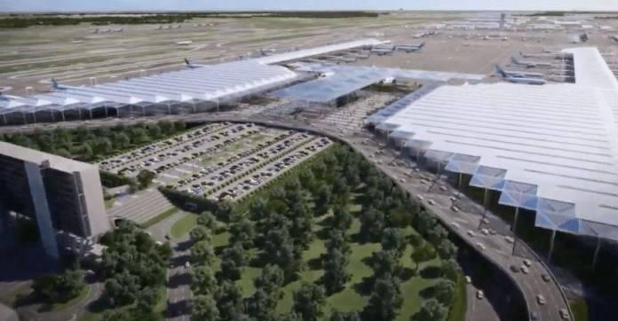 Sorprende a especialistas de EU la rápida construcción de aeropuerto de Santa Lucía