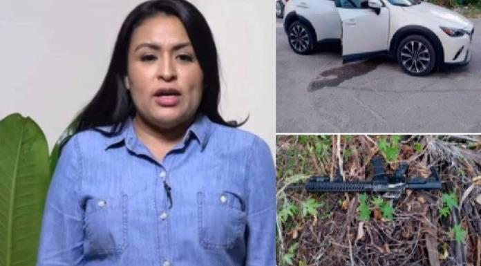 Candidata de Morena denuncia ataque armado