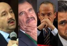 Diputado pide pena de capital contra expresidentes de México