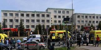 Al menos 8 muertos tras tiroteo en una escuela de Rusia