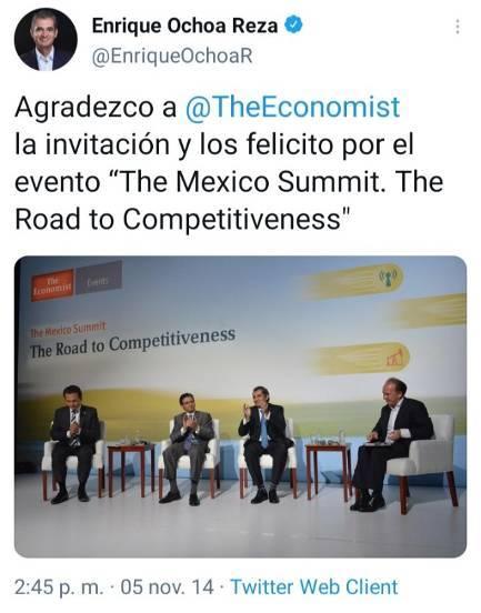 15 - La agenda de Claudio X. González, The Economist y Salinas