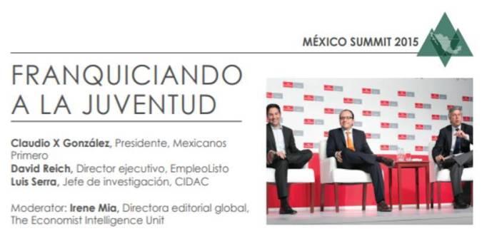 4 - La agenda de Claudio X. González, The Economist y Salinas