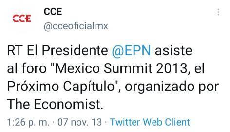 8 - La agenda de Claudio X. González, The Economist y Salinas