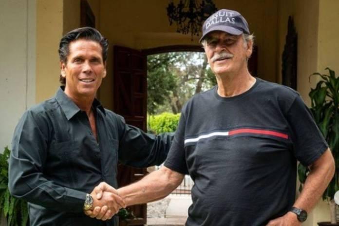 Vicente Fox recibió a Roberto Palazuelos en su hacienda en Guanajuato