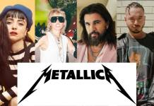 Metallica lanzará una nueva edición de The Black Album con J Balvin, Monas Laferte y Miley Cyrus