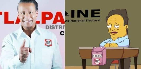 Alfredo Adame no llega ni al 1% de votos; las redes sociales se burlan del actor