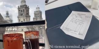 Denuncian estafas en terrazas del Zocalo de la CDMX